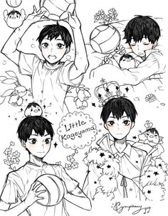 Haikyuu!! I can't handle this amount of cuteness OMG!!!!! ^.^