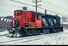RailPictures.Net Photo: CN 1759 Canadian National Railway MLW RSC-14 at Saint-Hyacinthe, Quebec, Canada by Doug Lilly
