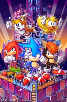 Sonic Mania Plus. Sonic Mania Plus Sonic The Hedgehog, Hedgehog Art, Silver The Hedgehog, Sonic Team, Sonic Heroes, Arte Peculiar, Sonic Unleashed, Classic Sonic, Sonic Mania