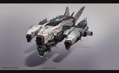 ArtStation - Spaceship, GINO STRATOLAT