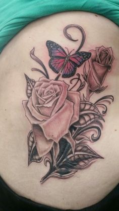 I was given 2 roses after I delievered my identical twin boys. My son, Adler, died and one of the flowers never bloomed a single petal. The other flower opened bigger than any other rose I had ever seen. The butterfly is for my daughter. She is my love bug. Still need white put in and touch ups done