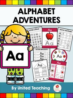 *** FREE Letter A Packet *** So many resources included: Posters, clip cards…