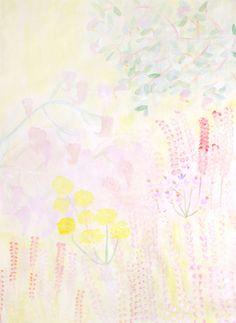 Jaune Crossed Fingers, Summer Travel, Cool Art, Watercolor, Cool Stuff, Floral, Illustration, Artwork, Painting