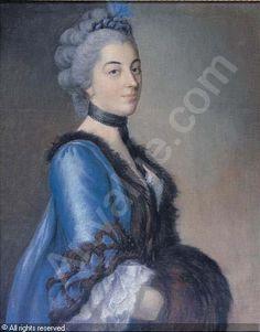 LIOTARD Jean-Étienne, 1702-1789 (Switzerland)   Title : Portrait of Madame Anne-Marie Germaine de Vermenoux (1739-1783)