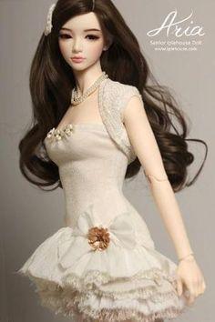 doll 人形 S. Pretty Dolls, Cute Dolls, Beautiful Dolls, Ooak Dolls, Barbie Dolls, Barbie Mode, Anime Dolls, Little Doll, Ball Jointed Dolls