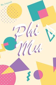Shop for all your favorite Phi Mu Bid Day gifts, jewelry and bundles at www.alistgreek.com! #bidday #sororitygraphic #gogreek #phimu #alistgreek #sororitywallpaper
