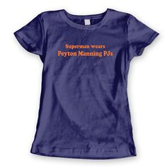 PEYTON MANNING PJs  funny hip retro cool quarterback by LOLomgWTF, $12.80