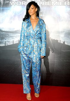 RIhanna in Pucci. Pajama Dressing. Pass the Cheetos.