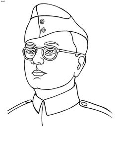 Netaji - Kids Portal For Parents Mom Drawing, Girl Drawing Sketches, Art Drawings Sketches Simple, Creative Sketches, Drawing Images For Kids, Easy Drawings For Kids, Cute Cartoon Drawings, Outline Drawings, Pencil Sketch Images