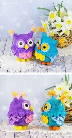 Free crochet owl pattern #amigurumi #amigurumidoll #amigurumipattern #amigurumitoy #amigurumiaddict #crochet #crocheting #crochetpattern #pattern #patternsforcrochet
