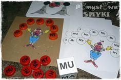 Sylabowe zabawy - cyrkowy pokaz ~ Pomysłowe Smyki