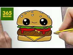 COMMENT DESSINER DONUT KAWAII ÉTAPE PAR ÉTAPE – Dessins kawaii facile - YouTube