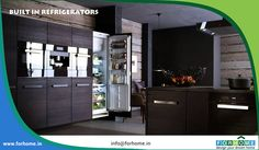 Built In Refrigerators and Accessories - For Home Kerala Contact : 0484 4052222, +91 9061057333, 9995808617 Visit : www.forhome.in #forhome #homeaccessories #modularkitchen #appliancedealers #Kitchenaccessories #kitchenappliance