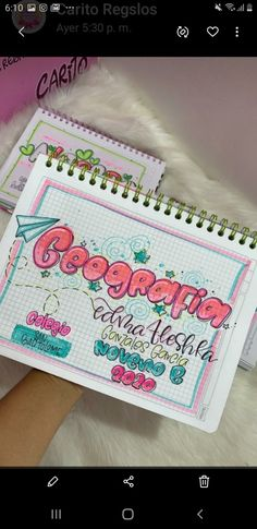 Bullet Journal Ideas Pages, Back To School, Love You, Notes, Study, Lettering, United Nations, Notebooks, Blog