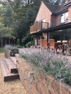 Our garden transformation - Just A Little Build Small Backyard Patio, Raised Patio, Rooftop Patio, Modern Backyard, Diy Patio, Backyard Landscaping, Patio Ideas, Garden Railings, Patio Railing