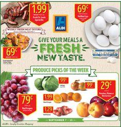 Aldi Ad September 7 - 13 , 2016 - http://www.olcatalog.com/grocery/aldi-ad.html