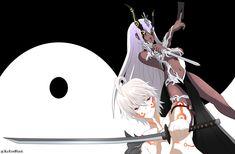 Sousei No Onmyouji Benio, Rokuro And Benio, Adashino Benio, Evil Girl, Twin Star Exorcist, Demon Girl, 3d Artist, Asuna, Anime Demon