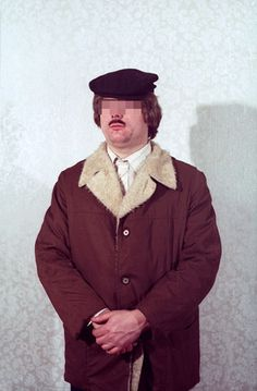 Once-classified photos of East German spies trying on different disguises...www.flavorwire.com