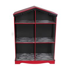 Kid's Patterned Storage Cubby       at Big Lots. Different colors- but love the different patterns.