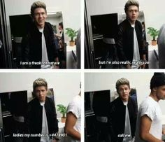 He is just so cute!!! <3 how can you not like Niall?!?!