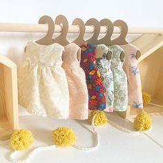 The dresses✔️ • • • #classycolors #handmadedoll #heirloomdoll #clothdoll #doll #dolls #dollmaker #dollmakers #thatsdarling #dollclothes #toddler #patternmaking #etsy #etsyseller #etsykids #etsybaby #wahm #wip #widn #nursery #nurserydecor #playful #play #playroomdecor #playroom #handmadegifts