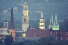 The Clustered Spires of Frederick