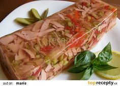 Tak to urcite vyzkousim I definitely try this to make! Slovak Recipes, Czech Recipes, Ethnic Recipes, Appetizer Sandwiches, Appetizers, Fresh Rolls, Healthy Snacks, Good Food, Brunch