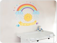 You Are My Sunshine Wall Stickers
