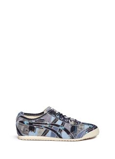 ONITSUKA TIGER – 'Mexico 66' unisex denim patchwork sneakers