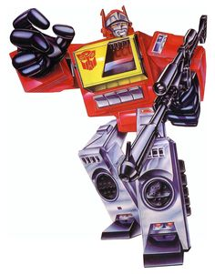 Botch's Transformers Box Art Archive - 1985 Autobots - Blaster