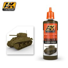 AK182 - OLIVE DRAB PRIMER 60ML