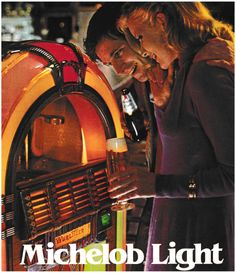Detail from 1981 Advertisement for Michelob Light