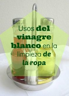 "El vinagre es un producto ""mágico"" que nos sirve para un millón de cosas. Hoy  te mostramos cómo puedes usarlo en la limpieza de la ropa. Natural Cleaners, Green Cleaning, Do It Yourself Home, Home Hacks, Natural Treatments, Keep It Cleaner, Clean House, Housekeeping, Good To Know"