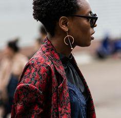 Street looks bijoux à la Fashion Week printemps-été 2017 de Londres