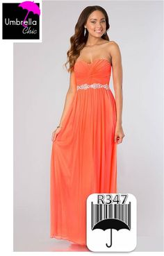 Haz Pin a este producto Coral, Strapless Dress Formal, Formal Dresses, One Shoulder, Chic, Fashion, Vestidos, Colors, Dresses For Formal