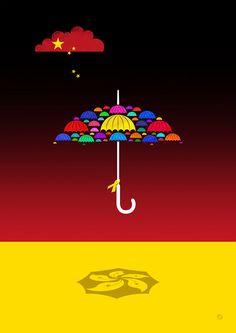 Umbrella Revolution  http://www.paul-garland.com