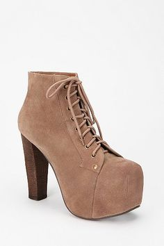 Jeffrey Campbell Suede Lita Boot. NEED THESE IN MY LIFE!!!