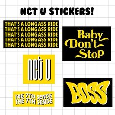 Exo Stickers, Tumblr Stickers, Printable Stickers, Cute Stickers, Kpop Phone Cases, Diy Phone Case, Kpop Diy, Logos Retro, Journaling