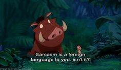 When people just can't take damn hint. | 24 Disney Comebacks For Every Occasion