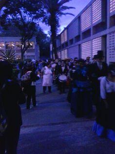 "Procesión 1.3, Alcatel One Touch 4030a, 3.2 Megapixeles, Escuela Nacional Preparatoria plantel nro. 6 ""Antonio Caso"", Paola Escalona Castañeda, 30.10.2015"