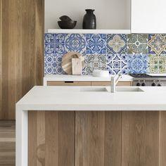 kitchen walls keukenbehang portugal tiles