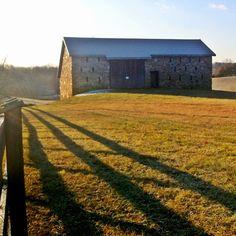 Glassmaker's Barn: North Elevation  www.CitizenFrederick.com
