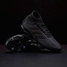 Adidas Men s Predator 18.3 FG Black Soccer Cleats CP9303 sizes 7-13 NIB 04586ce671d01