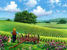 John Sloane ~ Watching It Grow