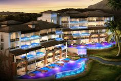 The brand new Italian Village at Sandals LaSource Grenada in the Caribbean - Sandals Resorts