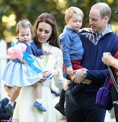 Kate and William - who have been dubbed Brexit ambassadors - took their children Charlotte and George on their tour of Canada last year. But they are not expected to take the prince and princess on their tour of Germany and Poland