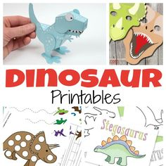 Need some dinosaur printables for kids? You'll find hundreds of free printables – from worksheets that will help your kids master all kinds of subjects to printable masks they can play with! Free Printable Dino Learning Packs & Worksheets 1. Let's start with the preschoolers! Grab this free printable dinosaur pack for preschool and let...Read More »