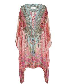 Camilla Belleza Lace-Up Caftan                                            | Shop IntermixOnline.com