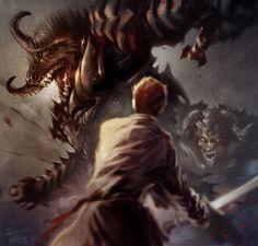 Rand al'Thor. The Dragon Reborn. Wheel of Time by Robert Jordan (Brandon Sanderson)