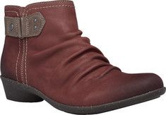Women's+Cobb+Hill+Nicole+Ankle+Boot+-+Black+Leather+with+FREE+Shipping+&+Exchanges.+The+Nicole-CH+ankle+boot+is+…